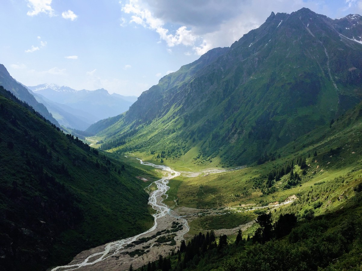 Swiss Alps, a great view to make inner change happen